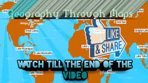 Asia Geography Map by Geography Through Map Asia By Karpathu Ias Youtube