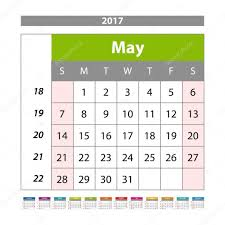 2014 planner template may 2017 wall monthly calendar for 2017 year vector design print vector design print template with place for photo week starts sunday planner template stationery design vector by romanchik ruslan gmail com
