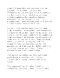 Crib Mattress Guide Best Crib Mattress Crib Mattress Canada The Crib Mattress Guide