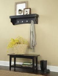 hall bench and coat rack foter