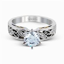 design of wedding ring 18k white gold intricate design engagement ring duchess collection