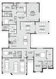 five bedroom house plans floor plan friday 5 bedroom entertainer