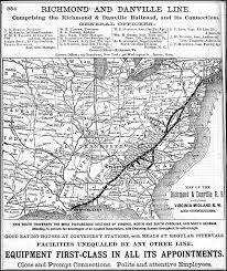 Pennsylvania Railroad Map by Richmond And Danville Railroad Wikipedia