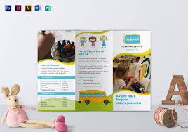 play school brochure templates 21 preschool brochure free psd ai eps format free