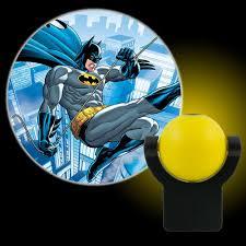 Batman Lights Projectables Batman 0 5 Watt Dc Comics Automatic Led Night Light