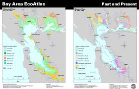 Utm Zone Map Ecoatlas Bay Area Past U0026 Present Map Info San Francisco Estuary