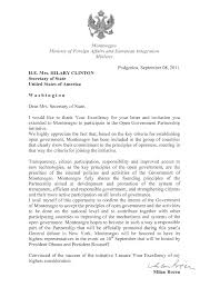Loi Letter Of Intent by Montenegro Letter Of Intent To Join Ogp Open Government