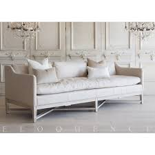 Aged Leather Sofa Eloquence Scandinavian Sofa In Aged Beige Leather And Worn Oak