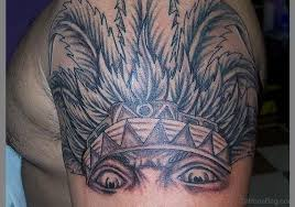 78 best aztec tattoos design on shoulder