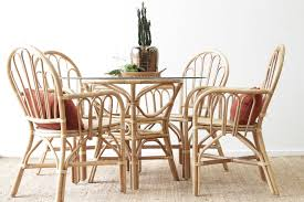 dining room table ls byron dining setting naturally cane rattan and wicker furniture