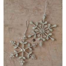 room view things snowflake ornaments