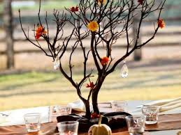 Tree Branch Centerpiece Green Tree Branch Wedding Table Decor Centerpieces Photo By