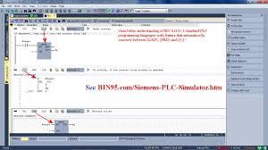 siemens plc simulator and plant simulation software