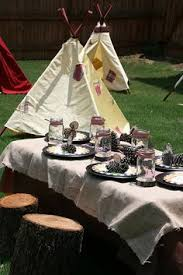 Backyard Camping Ideas An Eagle Scout Camping Party For Stephen Camping Themed Party