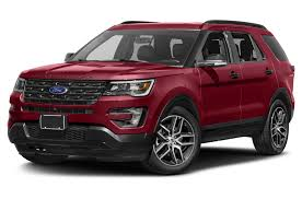 Ford Explorer Colors - 2017 ford explorer sport 4dr 4x4 specs and prices