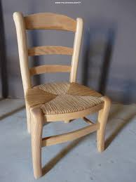 chaise enfant en bois chaise enfant en bois massif réf 49 c