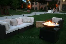 outdoor furniture rental exclusive events lounge furniture rental