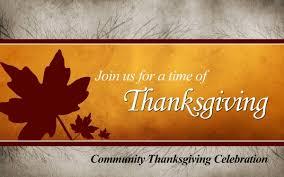 thanksgiving worship service kingdom seekers church