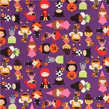 purple robert kaufman fabric children costume pumpkin