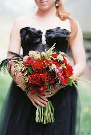 Red Wedding Bouquets Wedding Wednesday Red Bridal Bouquets Flirty Fleurs The