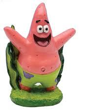 penn plax spongebob squarepants patrick aquatic ornament petco