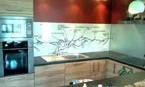 credence cuisine en verre credence cuisine en verre prix dune cracdence cuisine inox verre