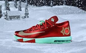 kd 6 christmas nike kd vi christmas kicks