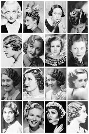new hairstyle of ladies pg 4 1930 u0027s hairstyles a collection of 1930 u0027s the vintage