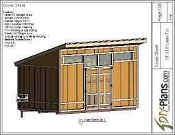 shed layout plans 10x18 modern shed plan