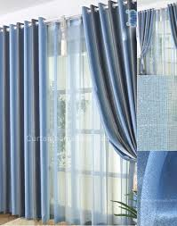 baby nursery best blackout curtains for window decorations blue