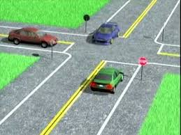Speed Limit In Blind Intersection California Dmv Rules Of The Road 6 Intersections Youtube