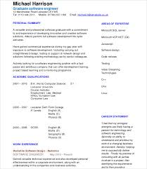 Resume Examples For College Students Engineering by Software Engineer Resume Template Download Free Online Resume