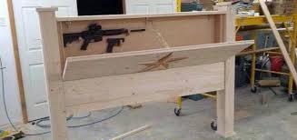 headboard gun safe best 25 hidden gun storage ideas on pinterest