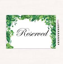 reserved signs for wedding tables 36 best wedding signs images on pinterest