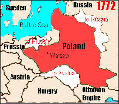 russia map before partition russian influence in poland and lithuania