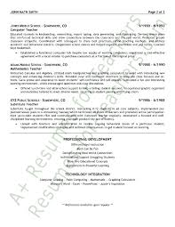 Resume Samples For Teaching Job by Teacher Resume Sample Page 2