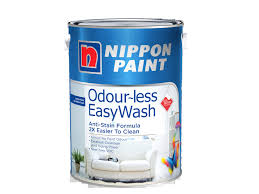 qoo10 nippon paint odour less easywash 5l easy wash and odourles