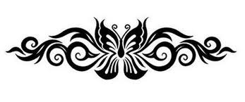 lower back butterfly design 2 tattoos book