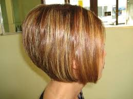 back view of medium styles photo gallery of stacked bob hairstyles back view viewing 13 of 15