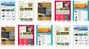 templates for newsletters download free email templates email newsletter templates collection