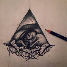 sketch for an all seeing eye doylepennrat