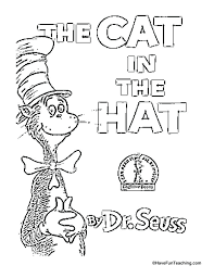 Cat In The Hat Coloring Book 2 Cat In The Hat Coloring Page Tattle Tongue Coloring Page