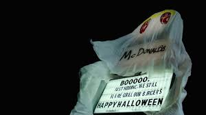 burger king halloween horror nights 2016 o assustador halloween do burger king youtube