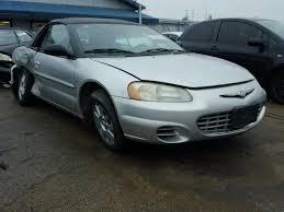 2003 Chrysler Sebring Interior Salvage Chrysler Sebring For Sale At Copart Auto Auction