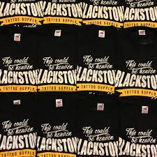 camiseta oficial blackstone tattoo supply primera edición