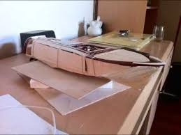 Rc Wood Boat Plans Free by Homemade Balsa Wood Rc Boat Build Youtube