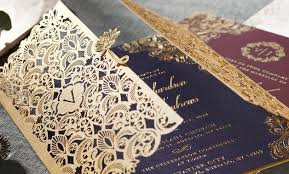weding cards wedding invitations laser cut invites stationery cards online