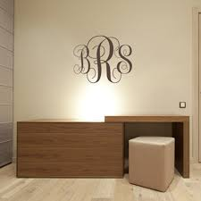 custom wall decals for nursery aliexpress com buy monogram initials wall decal personalized