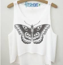 harry styles butterfly shirt on the hunt