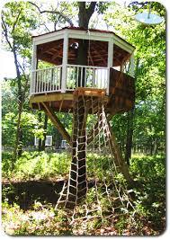 backyard zip line platform home outdoor decoration